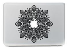 "NetsPower® Colorful Pattern Vinyl Decal Sticker Power-up Art Black for Apple MacBook Pro/Air 13"" 15"" Inch - Pattern 28: Amazon.co.uk: Computers & Accessories"