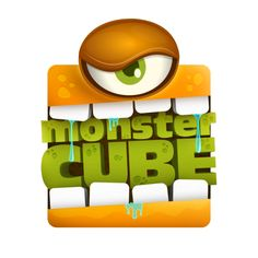 Monster Cube by Rodrigo Bellão, via Behance