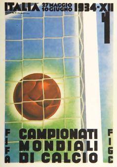 FIFA World Cup 1934 Postcard