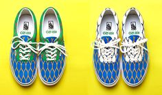 Kenzo + Vans. I'm not much of a sneaker girl, but these are rad.