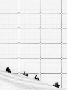La Grande Arche: Photo By Philipp Klinger Creative Pictures, Great Photos, Amazing Photos, Minimal Photography, Art Photography, Pattern Photography, Minimalist Architecture, Paris Architecture, Drawing Board