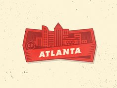 City Badge - Atlanta