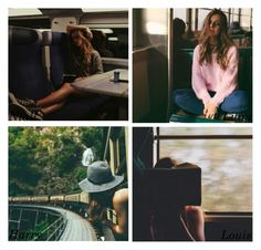 """""""The pic he posts of you on the train"""" by perfectharry ❤ liked on Polyvore"""
