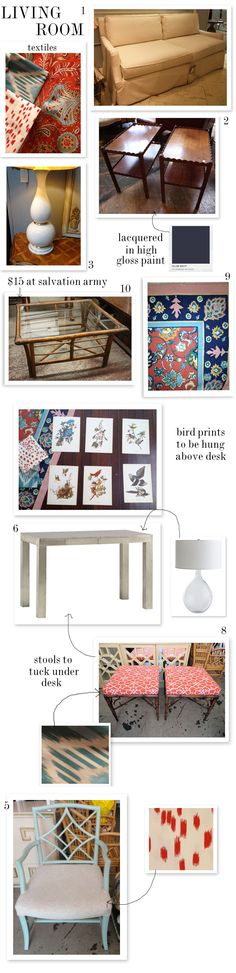 It's amazing what you can do with a budget - such great pieces.  www.goodbonesgreatpieces.com