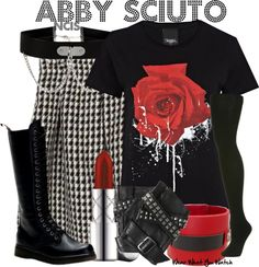 Inspired by Pauley Perette as Abby Sciuto on NCIS.