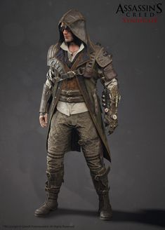 ArtStation - assassin's creed Syndicate steampunk jacob, Alexis Belley