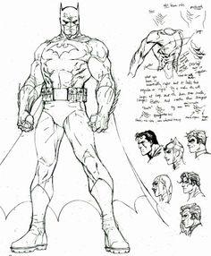 Jim Lee Hush sketch