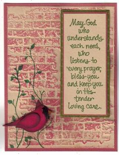 Tim Holtz Brick Wall by MartiCards - Cards and Paper Crafts at Splitcoaststampers
