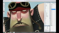 Old Biker - painting process. My character design for animated short by Dana Masson (Boadway) Music by Hevia  Short description: For the sak...