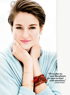 Shailene Woodley as the protagonist Avery would really work. She is younger than the way I've written Avery, but she is such a great actress, that I think she could pull it off.