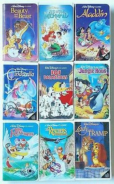 168 Best Vhs Dvd Collection Images Disney Love 90s Kids