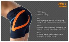 Hip #Ares #Tape #Kinesiology #Taping