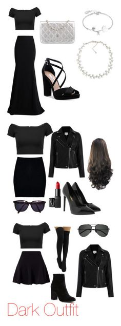 """""""Mis outfits"""" by lucila-zanabria ❤ liked on Polyvore featuring Alice + Olivia, Roland Mouret, Nina, Disney, Chanel, Carolee, Boohoo, Yves Saint Laurent, Sonia Rykiel and NARS Cosmetics"""