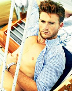 Scott Eastwood Shirtless: See Even More Unseen Photos of Clint Eastwood's Son in Town & Country Magazine!