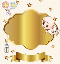 Baby Shower Labels, Baby Boy Shower, Naming Ceremony Invitation, Scrapbook Bebe, Baby Shawer, Baby Wallpaper, Baby Cartoon, Welcome Baby, Wedding Cupcakes