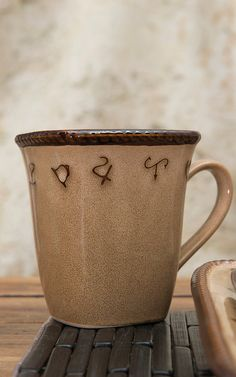 M&F Western Products® Rustic Ranch 4 Piece Mug Set