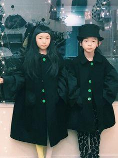 coatがかわいい! 娘は122センチでLLを着てます‼️ 彼はL‼️ instagram→kana