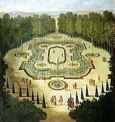 July 11, 1674- A round of parties kicks off in the new gardens at Versailles to celebrate French occupation of the Franche-Comté & King Louis XIV's new lover, Mme. de Montespan. Music by Lully is played in the gardens of the Porcelain Trianon, followed by an illuminated supper in the Salle des Festins.