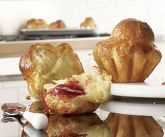 AUTHENTIC BRIOCHE 1 lb. 2 oz. (4 cups) unbleached all-purpose flour 1/3 cup sugar 1/2 oz. (4-1/2 tsp.) active dry yeast, preferably Red Star brand 1/2 oz. (2 tsp.) salt, plus a pinch for the egg wash 4 large eggs, at room temp + 2 large eggs and 1 large egg yolk for the egg wash 4 oz. (1/2 cup) whole milk, at room temp 8 oz. (1 cup) unsalted butter, cut into 16 pieces, slightly softened; more for the pans