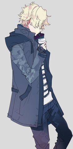 anime, anime boy, and more blood image