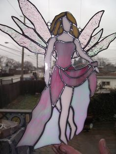 Items similar to Stained Glass Fairy on Etsy Celtic Stained Glass, Stained Glass Angel, Stained Glass Windows, Glass Painting Designs, Paint Designs, Stained Glass Projects, Stained Glass Patterns, Dragons, New Project Ideas