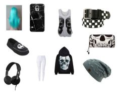 """""""Untitled #252"""" by skullmaster ❤ liked on Polyvore featuring beauty, WearAll, Skullcandy and Casetify"""
