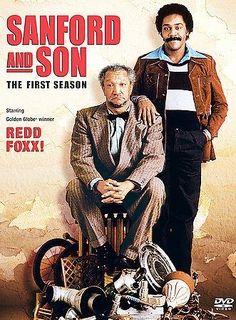 Redd Foxx & Demond Wilson - Sanford and Son : Fan Favorites Black Tv Shows, 80 Tv Shows, Watch Tv Shows, Tv Shows Online, Black Sitcoms, Redd Foxx, Sanford And Son, Tv Land, Event Posters
