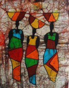 Browse through images in World Artz's Ellis Tayamika Singano collection. Collection of batiks painted by Ellis Tayamika Singano. Specializes in batik paintings imported from Malawi, Africa. Afrique Art, African Quilts, African Art Paintings, Batik Art, Afro Art, African American Art, Wall Art Prints, Pop Art, Art Projects