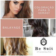 Esta semana o tema abordado por @maria_joao_brito são as tendências de coloração no verão  Balayage.  #BeSuit #Coloração #Moda #Balayage #Tendências #ModaFeminina #BeFashion #PortaldeModa