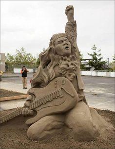 sand scupltures | sand sculptures art artist fantastic sculptures sand sculptures ...