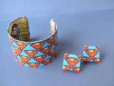 Seriously, a Superman bracelet? How cool!!