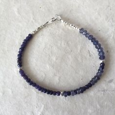 A personal favorite from my Etsy shop https://www.etsy.com/listing/271393560/blue-sapphire-iolite-karen-hill-tribe