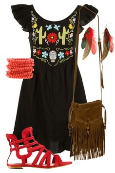 Mexican Magic Outfit includes Friends of Couture, RMK, and JJ Sisters - Birdsnest Buy Online