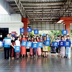 Welcoming delegates to the special convention in Thailand. Photo shared by @meekaa55