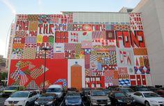 Barry McGee 'Art in Street 2012′ Mural