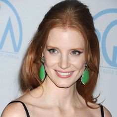 Jessica Chastain attending the Producers Guild Awards (2012) wearing #Bochic