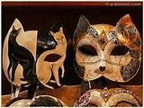 Masques de Carnaval de Venise Schegge Artisan d'Art Masque Carnaval ...