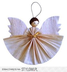 DIY Christmas Angel Ornament   Love It!