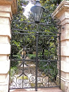 Gorgeous Wrought Iron Gates of Charleston SC