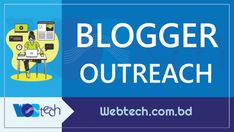 Are you looking for the best blogger outreach services at a reasonable price for your business website? You are in the right place. We provide high-quality, informative, engaging blogger outreach services around the world. At WebTech, we have an expert team, who will help you to reach out to bloggers that will help to create genuine and authentic content to promote your product, brand or service. That's why we can assure you, the best reasonable price according to the quality that we… What Is Blogger, Non Disclosure Agreement, Win Win Situation, Writing About Yourself, Blog Sites, Target Audience, Business Goals, Business Website, Writing Services