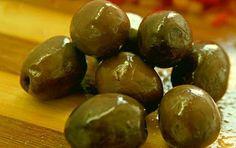 Aceitunas verdes en salmura