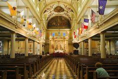 New Orleans-Cathedral of Saint Louis