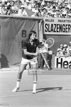 Adriano Panatta - Roland Garros International Tennis Tournament 1976.