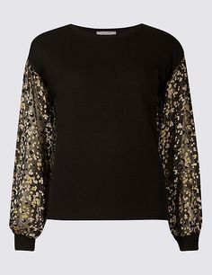 0b6c516f2 Marks and Spencer Round Neck Balloon Sleeve Jumper Pullover, Winter Is  Here, Sweater Fashion