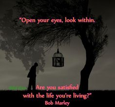.Open your eyes and look within