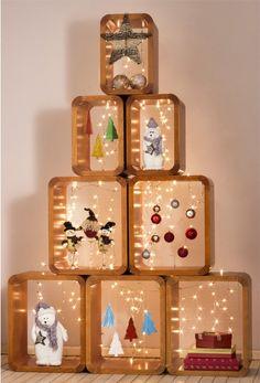 Uma alternativa criativa para sua Árvore de Natal
