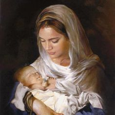 Mary and her most precious baby Jesus