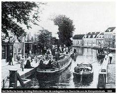 Het Delftse bootje in 1895.
