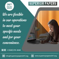 Call Or WhatsApp: +1 628 270 4648 superiorpapers247@gmail.com #flexiblewritingsevice #writingcompany #writer #paywriter Best Essay Writing Service, Paper Writing Service, Academic Writing Services, Business And Economics, Custom Writing, Term Paper, Good Essay, Writing Help, Research Paper