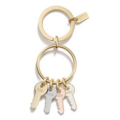 The Multi Keys Key Chain from Coach $48